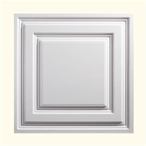 Genesis Ceiling Tile Menards by Genesis Designer 2 X 2 Pvc Icon Relief Lay In Ceiling