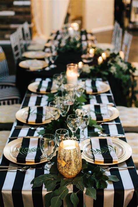 simple beautiful black  white wedding ideas