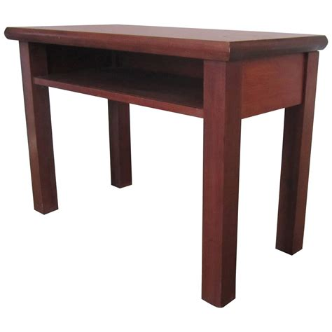 end table ls for sale small end or side table with shelf for sale at 1stdibs