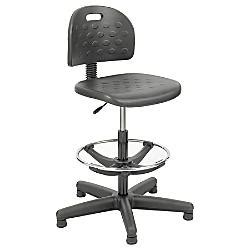 safco soft tough economy workbench drafting chair 39 49 h