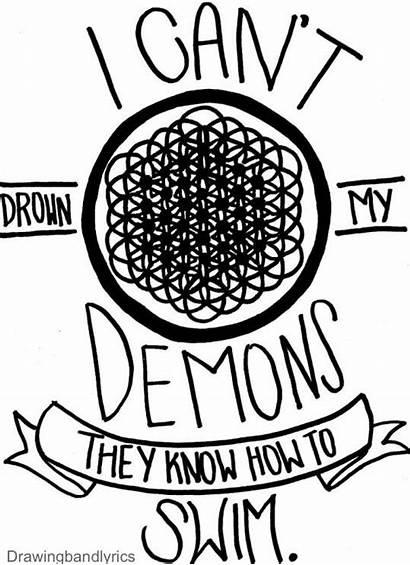 Coloring Horizon Lyrics Bring Band Draw Drawings