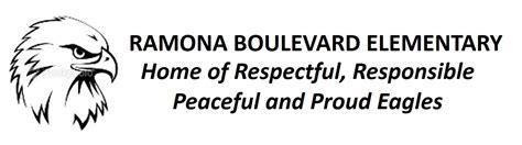 ramona boulevard elementary homepage