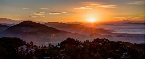 nepal sunrise  sunset   nepal sunrise