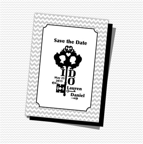 FREEDownload Save the Date printable template with a