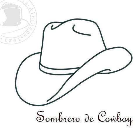 sombreros  colorear ii cowboys  sombreros