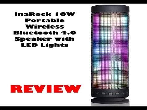 inarock 10w portable wireless bluetooth 4 0 speaker with