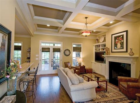 Island Without Seats, Tv Where Fireplace Is, French Doors