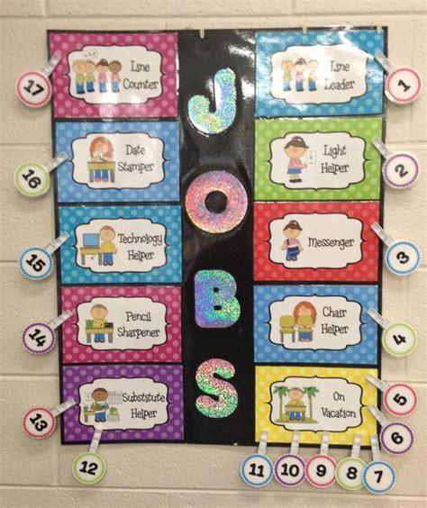 chart quot classroom helpers quot editable polka 529   d26ea064a544b4225f43273fad5cfd7b helper chart preschool preschool job chart ideas
