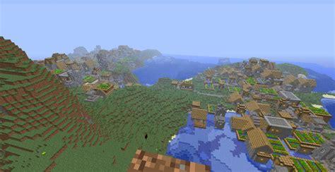 biggest npc village  minecraft map