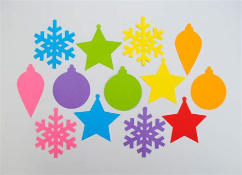simple christmas tree decorations for kids templates