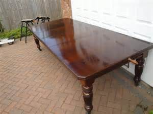 vintage walnut dining table large antique walnut extending dining table antiques atlas 6879