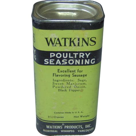 poultry seasoning watkins poultry seasoning from shopwithelaine on ruby lane