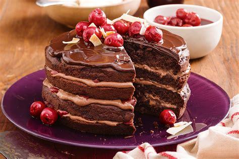 cherry choc cake