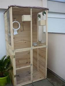 Fabrication D Une Voliere Exterieur : nouvelle maison des mes oiseaux ~ Premium-room.com Idées de Décoration