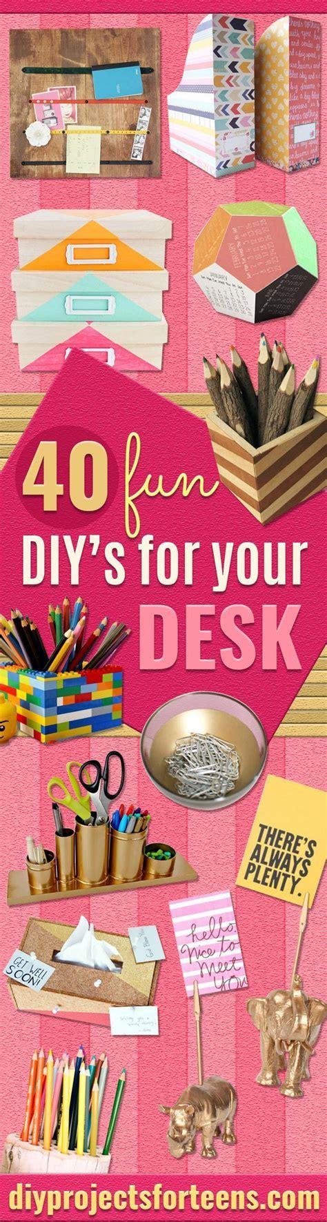 fun diys   desk cool diy projects diy room