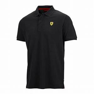 Ferrari Polo Shirt : ferrari mens classic polo shirt 100 cotton in black or ~ Kayakingforconservation.com Haus und Dekorationen