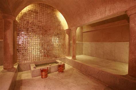 salle de bain romaine sauna ou hammam