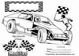 Dirt Track Race Coloring Drawing Cars Clipart Printable Modified Nascar Colouring Clip Racing Bike Tracks Tire Cartoons Clipground Wheel Trucks sketch template