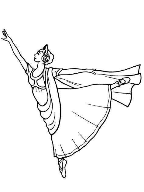 Ballet Kleurplaat by Kleurplaten En Zo 187 Kleurplaten Ballet