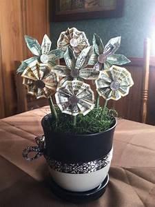 things i 39 ve made origami money flowers money flowers