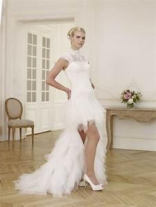 Robe De Mariee Courte : 32 best images about robes de mariee on pinterest evening dresses online special occasion ~ Preciouscoupons.com Idées de Décoration
