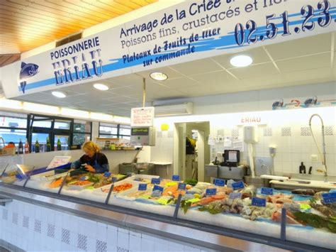poissonnerie eriau poissons fruits de mer les sables d olonne 85100