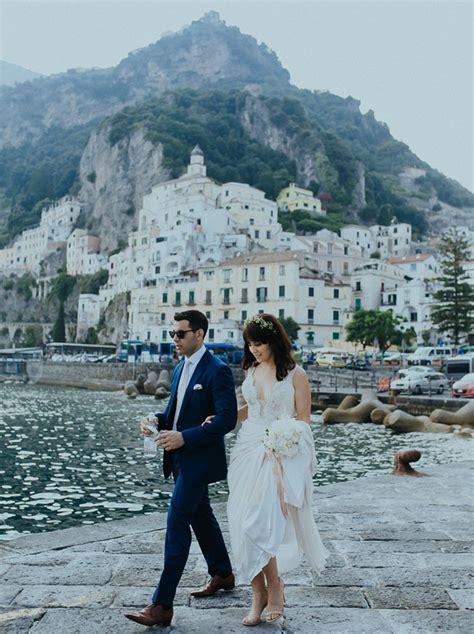 Amalfi Italy Wedding At A Twelfth Century Basilica