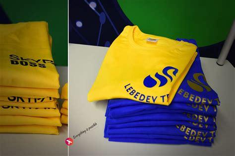 T kreklu apdruka   Reklāmas aģentūra - Reklāmas stendi - Druka