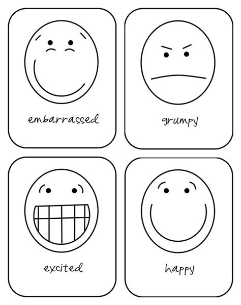 free printable emotion flash cards for your toddler 497 | 44007bf6ec61a2e97644848ff165bb6b hopes and dreams flashcard