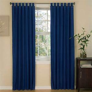American Denim Tab Top Curtains
