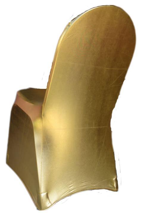 metallic spandex banquet chair cover