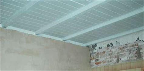 montagebalk len plafond tussen balken mooi dichtmaken