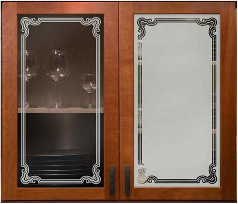 glass for cabinet doors florence border cabinet glass sans soucie glass