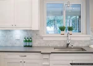 10 subway white marble backsplash tile idea