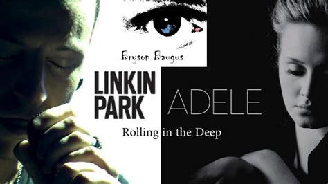 [adelelinkin Park] Rolling In The Deep (live) Vocal Cover