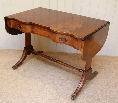 drop leaf sofa table mahogany drop leaf sofa table antiques atlas