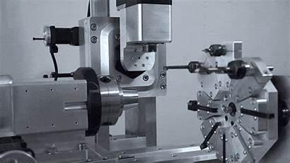 Machine Cnc Mill Turn Down Angle Workpiece