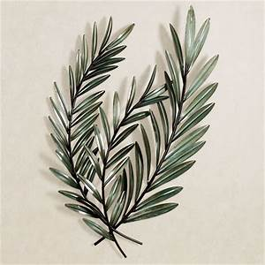 Laurella leaf metal wall art for Leaf wall decor