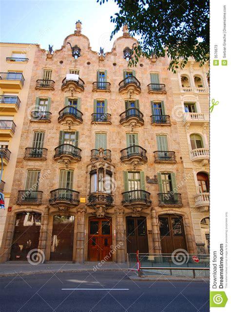 casa calvet stock image image  barcelona facades