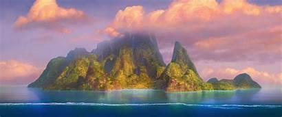 Disney Moana Motunui Island Islands Wiki Motu