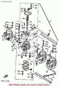 Yamaha Xj650rj Seca 1982 Carburetor