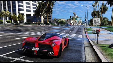 gta  graphics laferrari mvga gameplay