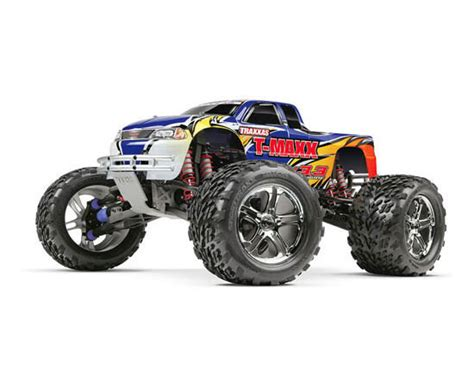 nitro rc monster trucks traxxas t maxx 3 3 rtr rc nitro monster truck 55 mph