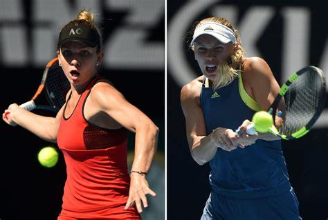 Australian Open 2018: Caroline Wozniacki beats Simona Halep - BBC Sport