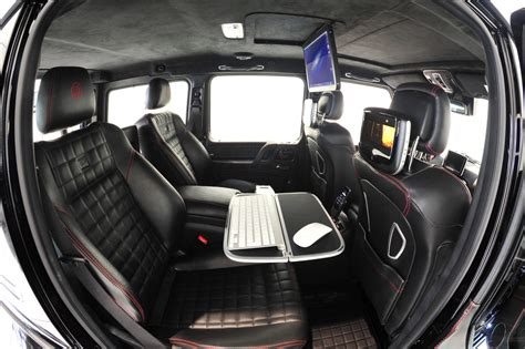 customized g wagon interior mercedes benz g class is now completely apple thanks to brabus