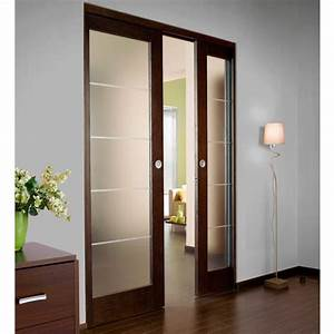 Serrure De Porte De Chambre : syst me coulissant prestige uno int gr pour 2 portes sans ~ Premium-room.com Idées de Décoration