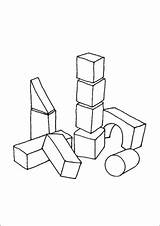 Blocks Building Coloring Pages Toys Printable Additions Newest Freeprintablecoloringpages sketch template