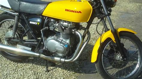 Honda Cj250t (1973) Youtube