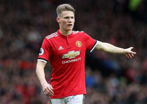 England did not want Scott McTominay for their top team ...