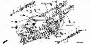 Honda Atv 2009 Oem Parts Diagram For Frame